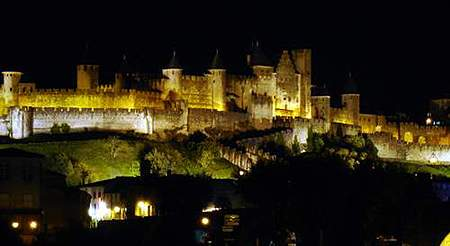 Исторический город-крепость Каркассон (Франция)