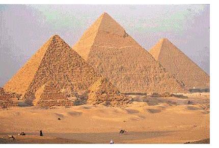 Пирамиды Гизы (Египет)