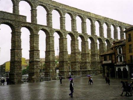 Акведук Сеговия (Испания)