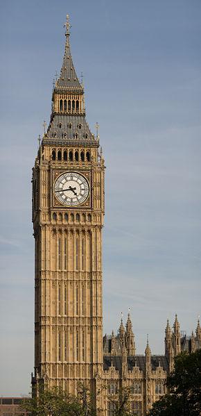 Башня Биг Бен (Великобритания)