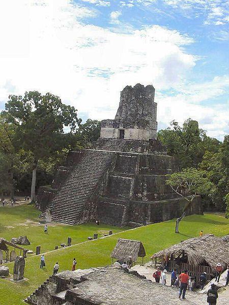 Руины Тикаля (Гватемала)