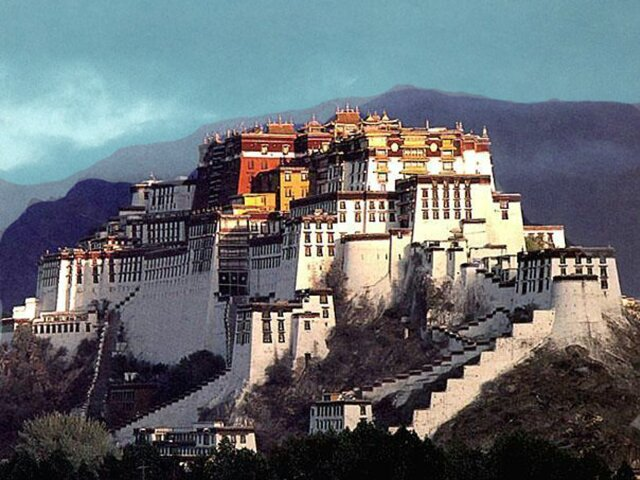 Потала дворец (Тибет)