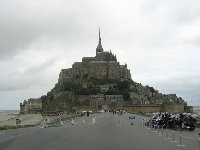 Мон Сен-Мишель (Франция)
