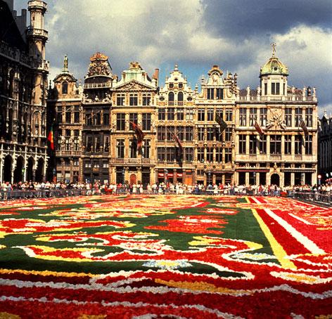 Главная площадь Брюсселя (Бельгия)