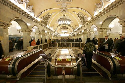 Московское метро (Россия)