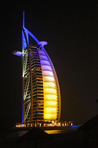 Бурдж аль-Араб в Дубае
