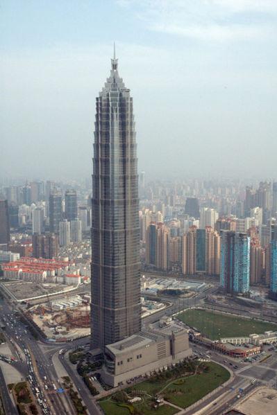 Цзинь Мао в Шанхае (Китай)