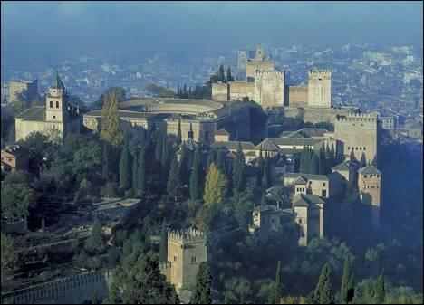 Alhambra of Granada (Spain)