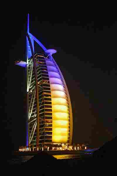 Burj al-Arab in Dubai