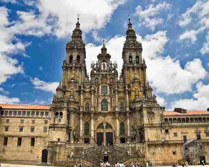 Cathedral of Santiago de Compostela (Spain)