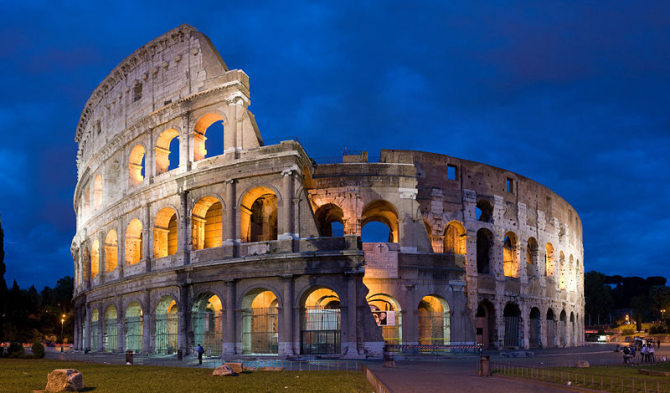 Colosseum in Rome (Italy)