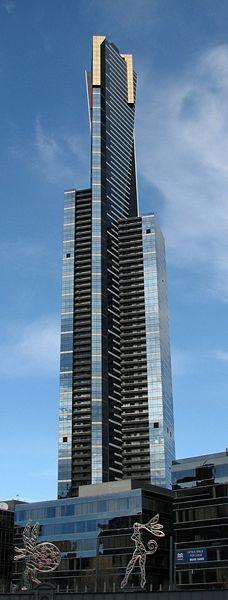 Eureka Tower in Melbourne (Australia)