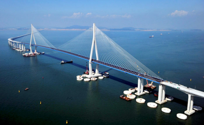 Incheon Bridge (South Korea)