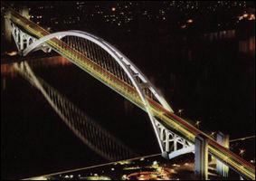 Lupu Bridge in Shanghai (China)