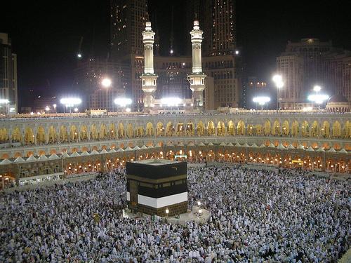 Masjid al-Haram Mosque in Mecca