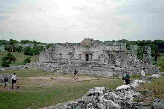Mayan ruins of Tulum in Cancun (Mexico)
