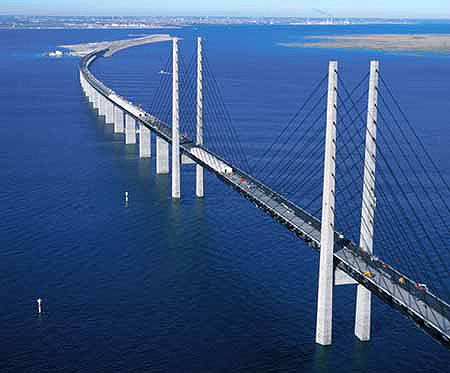Oresund Bridge (Sweden and Denmark)
