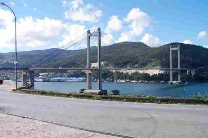 Rande Bridge in Vigo (Spain)
