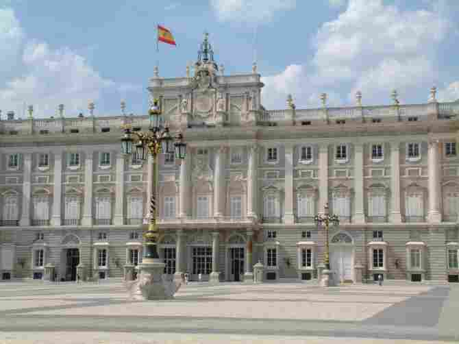 Royal Palace of Madrid (Spain)
