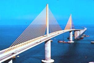 Солнечный мост в Skyway, Флорида