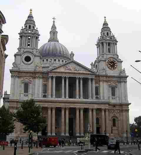 St Paul's Cathedral in London (United Kingdom)