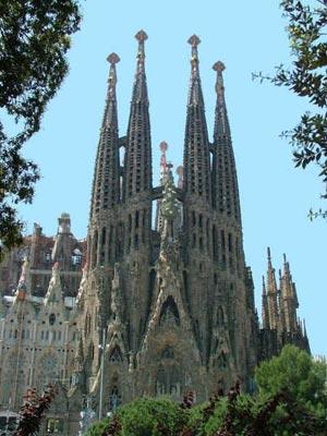 Temple of the Sagrada Familia (Spain)