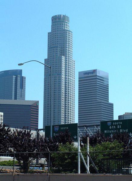 US Bank Tower в Лос-Анджелесе (Калифорния)