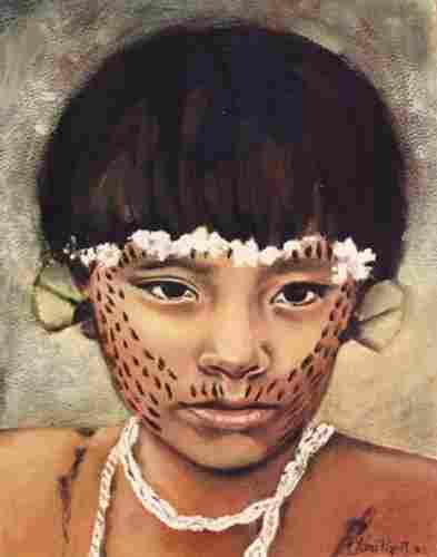 Els membres de la tribu Yanomami els fan servir per donar-se el bon dia