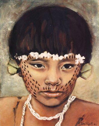 Leden van de Yanomami-stam gebruiken ze om goedemorgen te zeggen