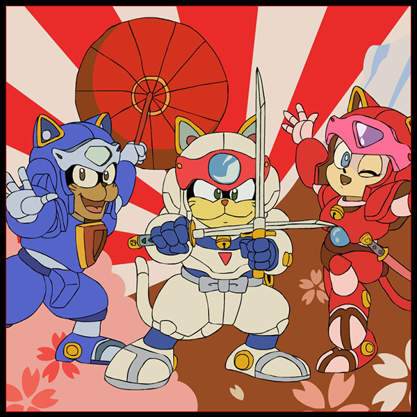 Samurai Pizza Cats.
