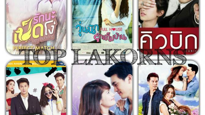 The best lakorn (Thai series)