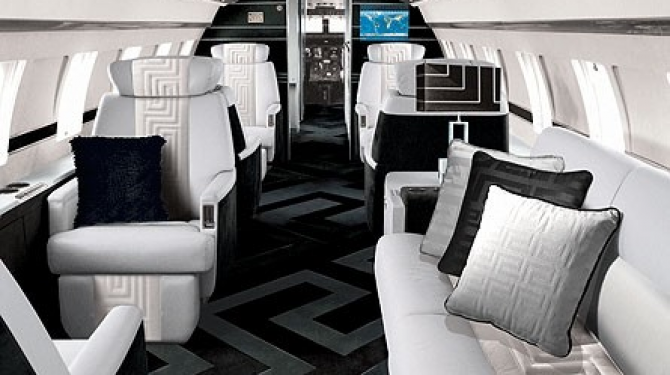 The best private planes of famous people