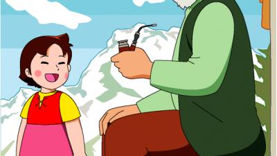Avós e avós dos desenhos animados
