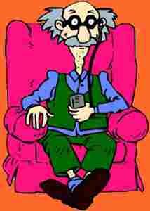 Großvater von Tommy, Angelica und Dil (Rugrats: Adventures In Windeln)