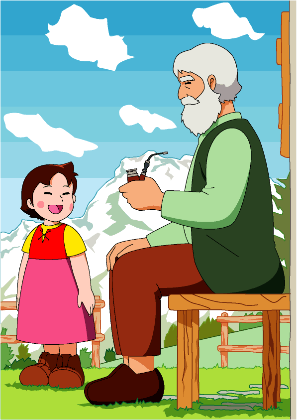 Heidis Großvater (Heidi)