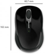 Microsoft - Microsoft Wireless Mobile Mouse 4000